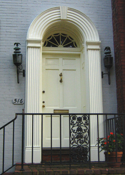 Colonial With Fanlight